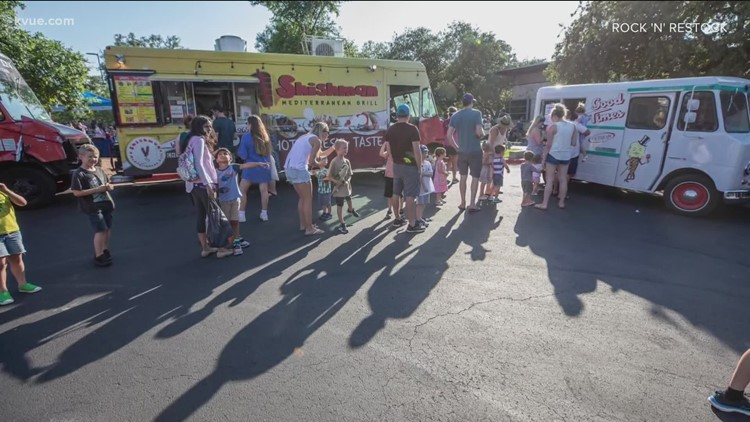 Free concert series Rock 'n' Restock offers food and music while giving back