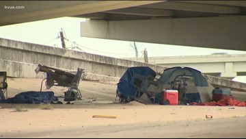City spending $390,000 annually to clean underneath overpasses in Austin