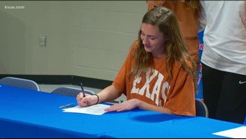 Signing Day: Texas inks local high school basketball star