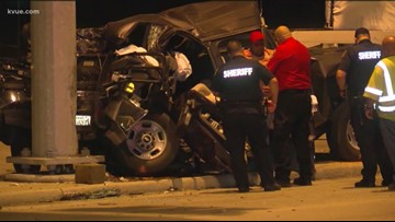 GRAPHIC: 3 horses killed in suspected DWI crash near Houston