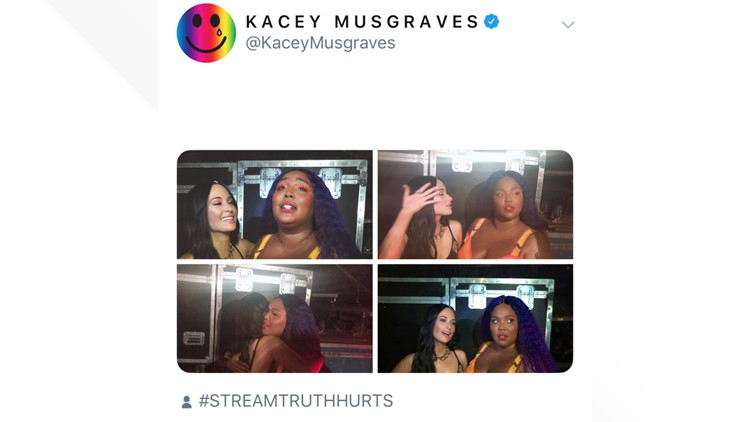 Kacey loves Lizzo