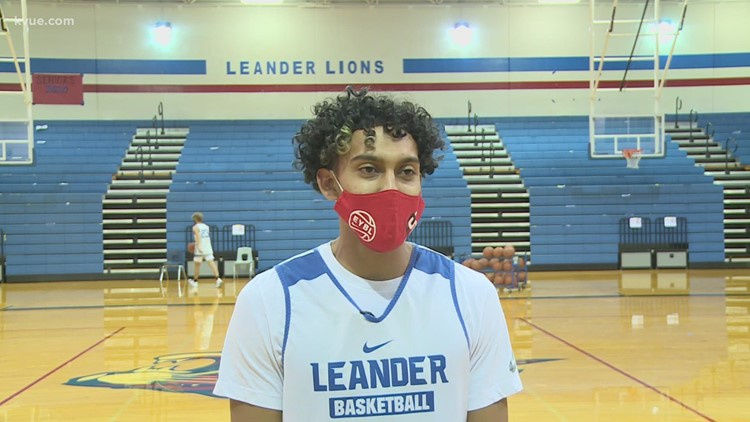 Leander Lions' Noah Robledo is out to prove something