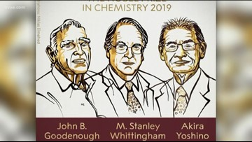 UT professor wins Nobel Prize in for work on lithium-ion battery