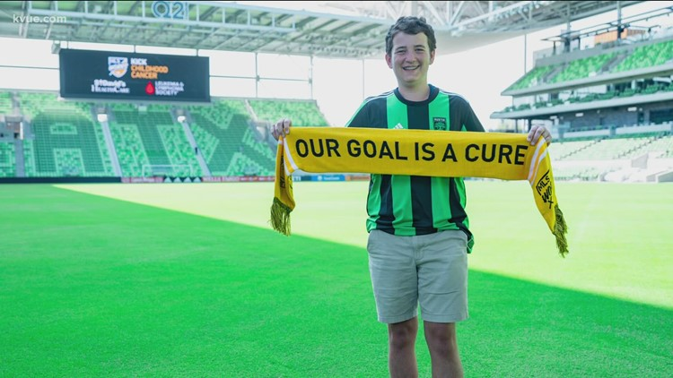 Austin FC aims to kick childhood cancer