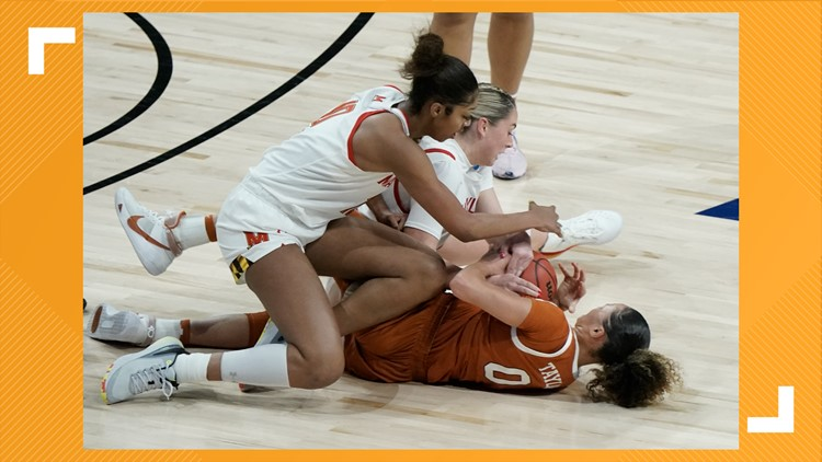 Texas women's basketball advance to Elite Eight after upsetting No. 2 seed Maryland