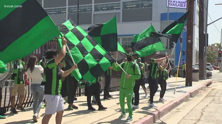 Austin FC fans travel to LA for first match