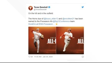 Preseason All-Big 12 Conference team released, features two Texas Longhorns