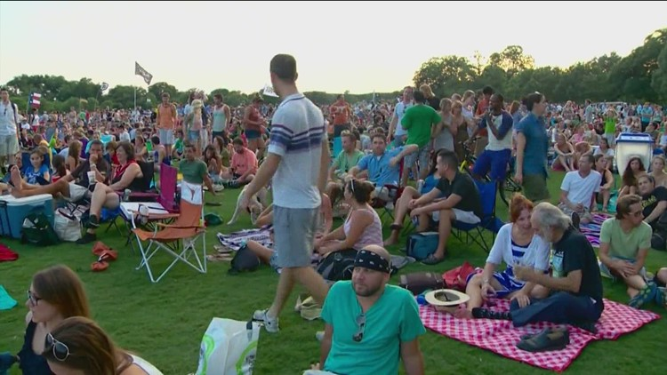 Blues on the Green returns to Zilker Park in Austin on July 27