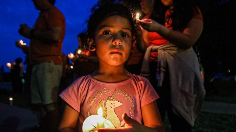 Vigil Girl El Paso