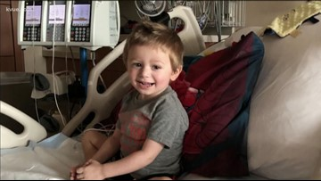 Courageous Colton: 3-year-old's cancer battle
