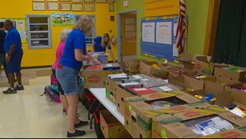 2019 'For the Children Drive' raising money to buy school supplies for Austin area students