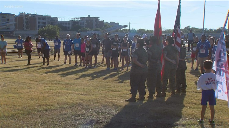 George P. Bush among participants in 9/11 Heroes Run at Camp Mabry