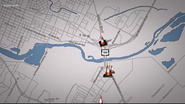Traffic shifts on U.S. 183 near Airport Boulevard starting Tuesday