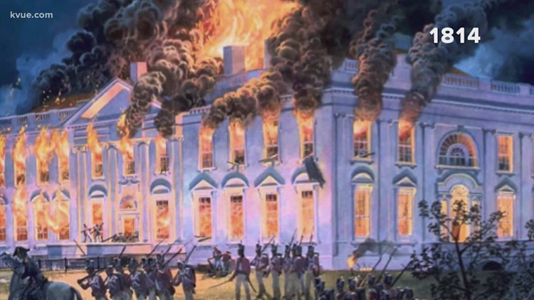 It's been more than 200 years since a mob last stormed the U.S. Capitol