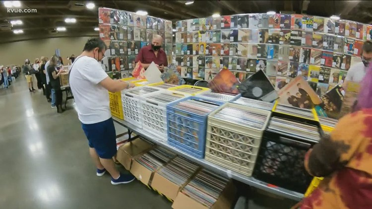 Austin Record Convention underway at Palmer Events Center