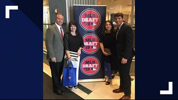 Brett Baty selected 12th overall by the New York Mets