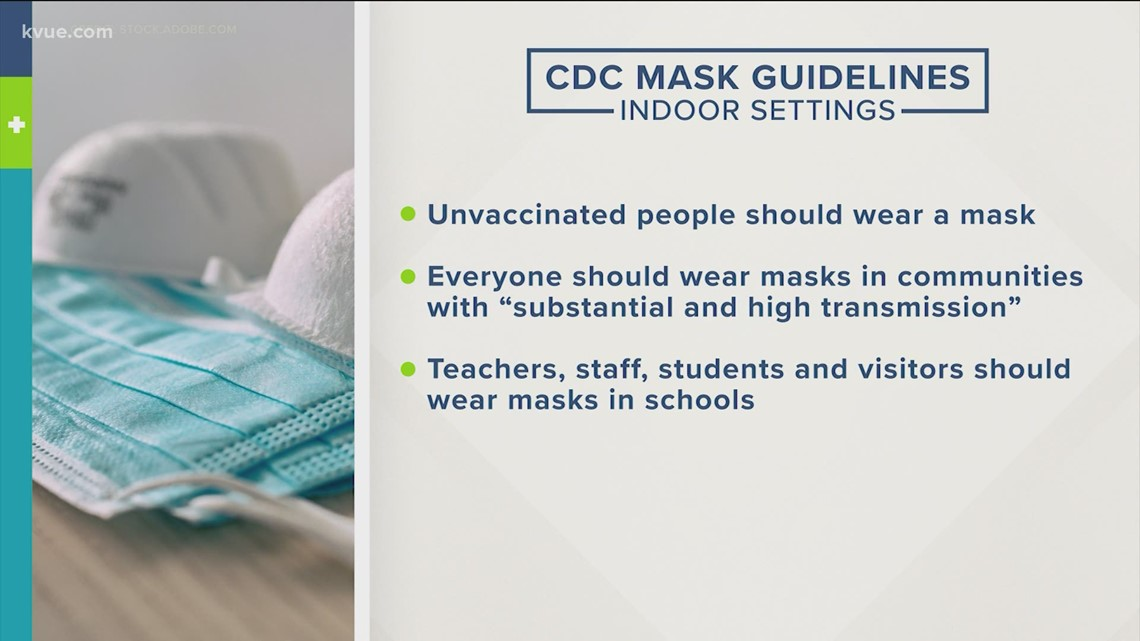 CDC backpedals on indoor masking guidelines