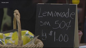 Gov. Abbott holds ceremonial signing of lemonade stand bill