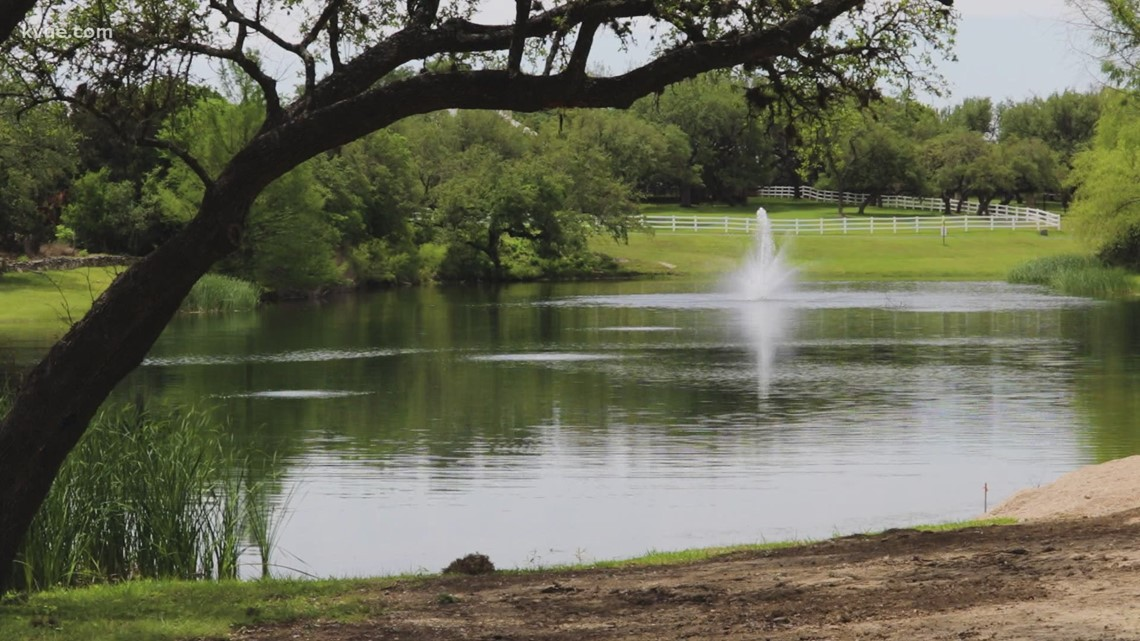 Group protests proposed sewage treatment plant near Dripping Springs