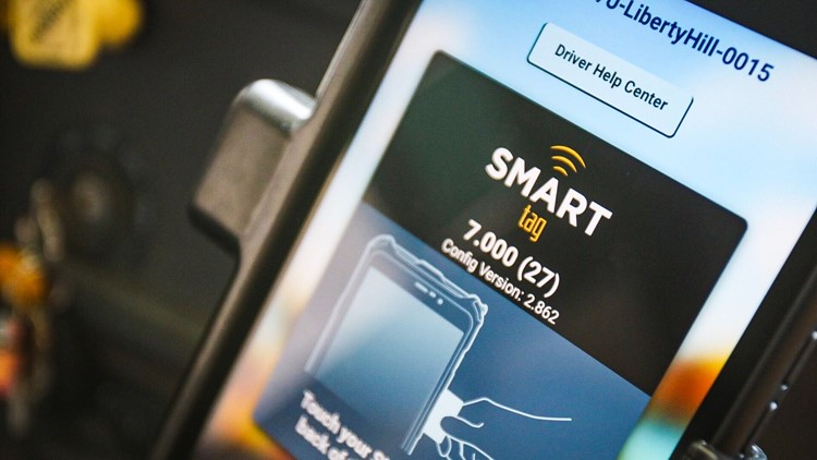 Smart Tag Screen