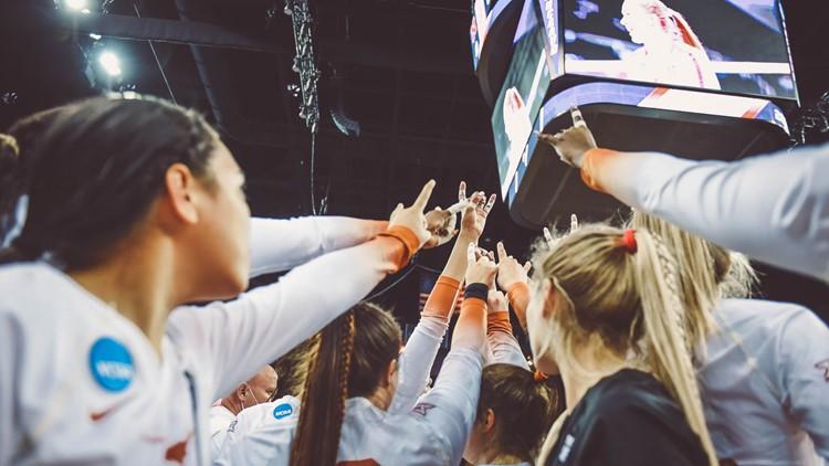 Texas Longhorns volleyball advances to Final Four after beating Nebraska