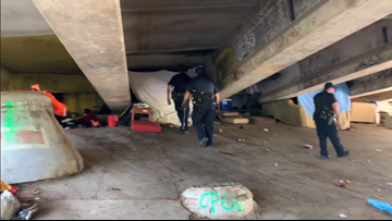 Pilot program to clear Austin homeless camps that pose as risk to public, environment