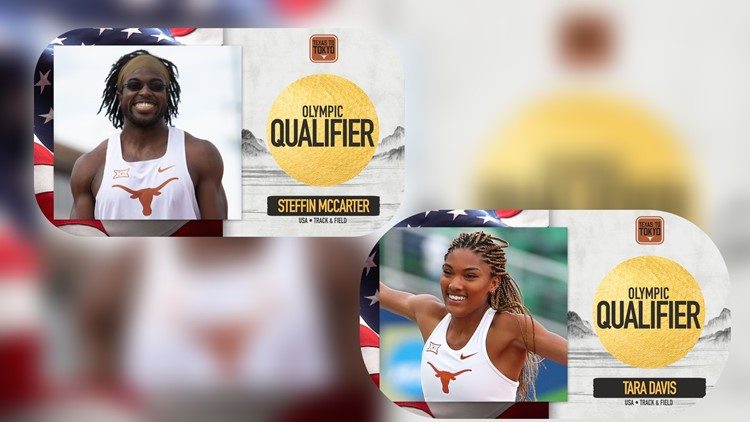 2 Texas Longhorns long jumpers punch tickets to Tokyo Olympics