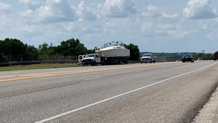 Crews working to move 'Spare Room' boat stuck on SH 71 for over a week
