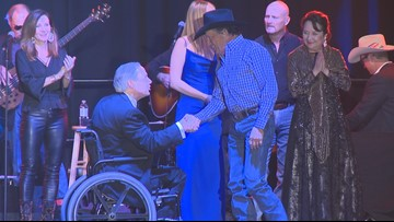 George Strait performs at Inaugural Ball for Greg Abbott, Dan Patrick