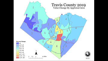 Property tax info is in the mail: See which Austin areas