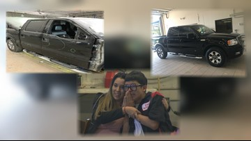Austin-area autobody shop gifts teen with his late father's car