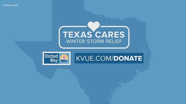 Texas Cares: Winter Storm Relief fundraiser underway