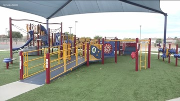 Round Rock ISD making playgrounds more accessible for kids with disabilities