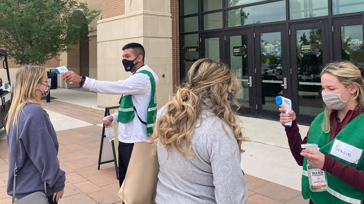 Hays County holds mass walk-up COVID-19 vaccination clinic at Texas State University
