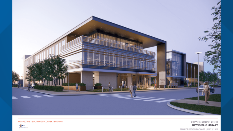 Round Rock City Council approves construction contract for new library