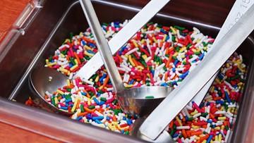 Ice cream flies at Amy's Ice Creams' 2019 'Trick Olympics'