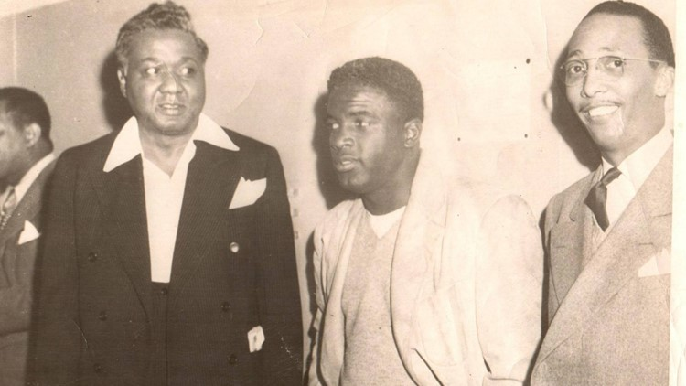 A season in Central Texas: Jackie Robinson coached basketball in Austin