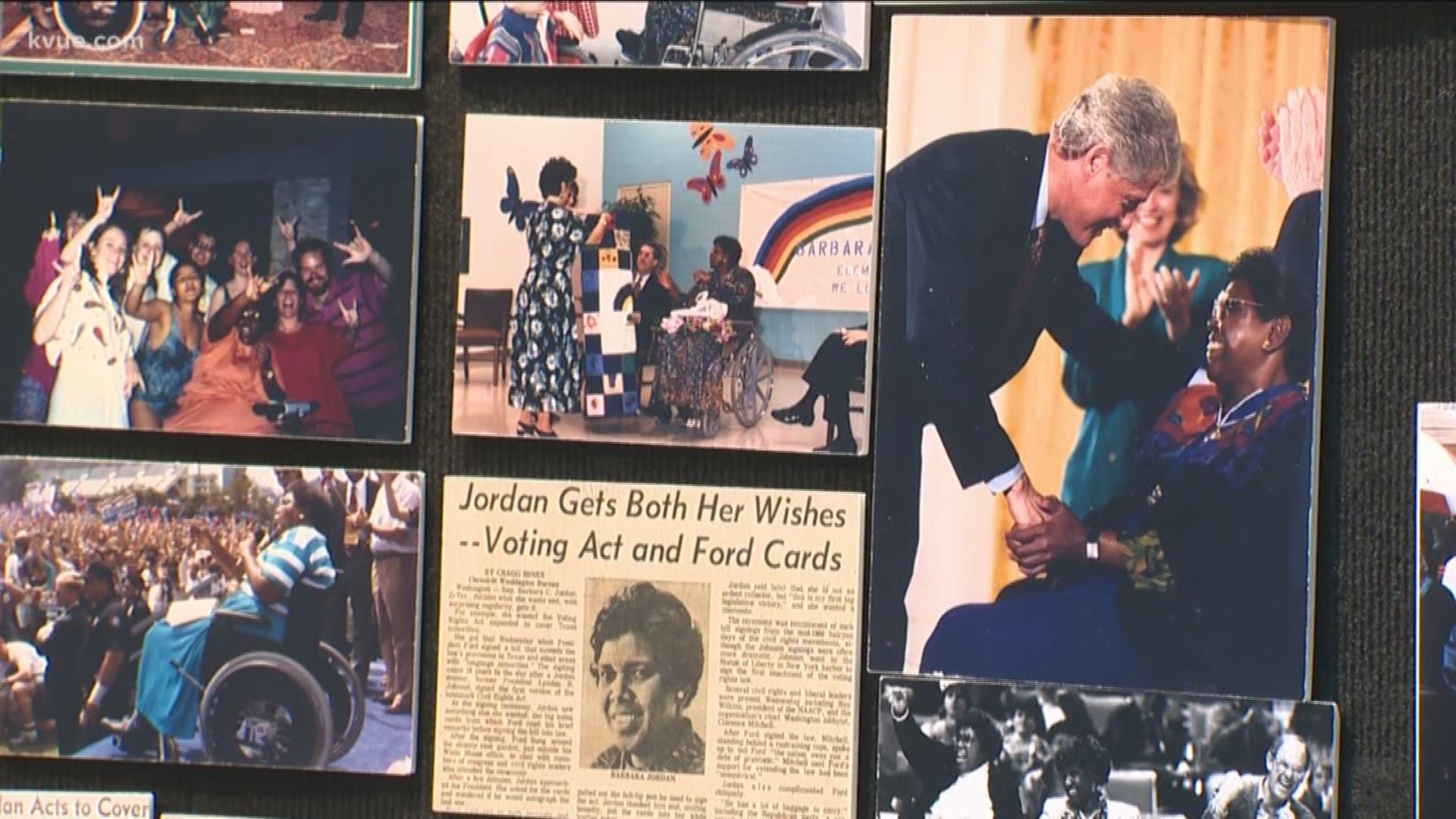 Barbara Jordan Politics Black History Month African American Kvue Com