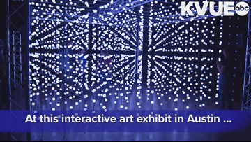 At this art exhibit in Austin, you can play with light and sound