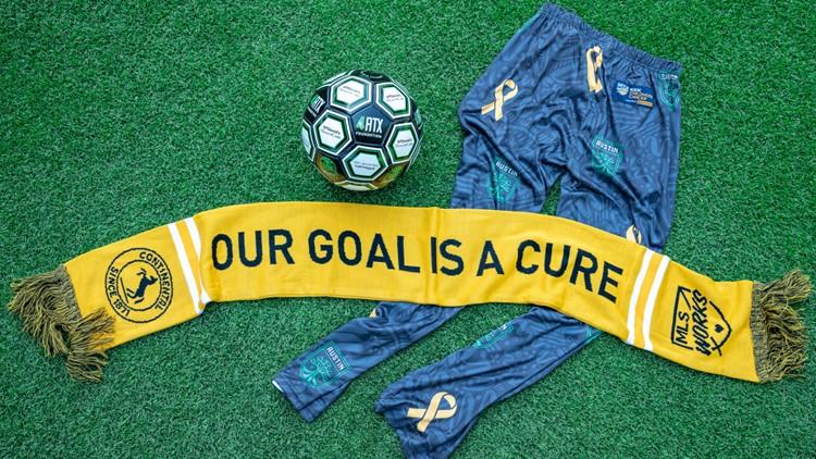 Austin FC hosts Kick Childhood Cancer Night