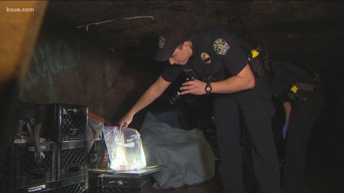 Homeless camp 'hotspot' for violent crimes, drug deals and prostitution sparks police cleanup