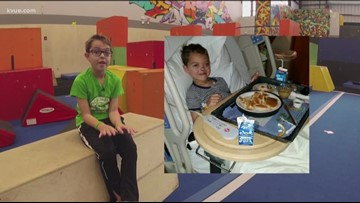 Austin-area boy with brain tumor raising money to help others