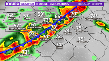 After beautiful weather, strong to severe storms possible
