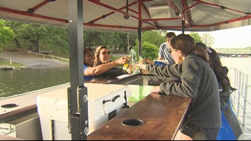 Austin's first cycle boat lets you pedal and drink on the lake