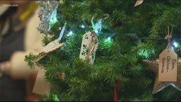 Trees at Williamson County Courthouse honor crime victims, survivors