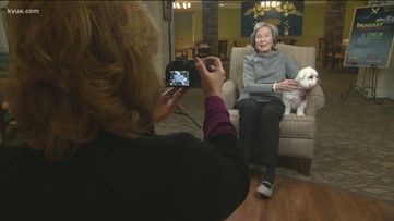Local photographer uses dogs to help with dementia