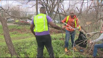 Volunteers participate in 'MLK Day of Service' in East Austin