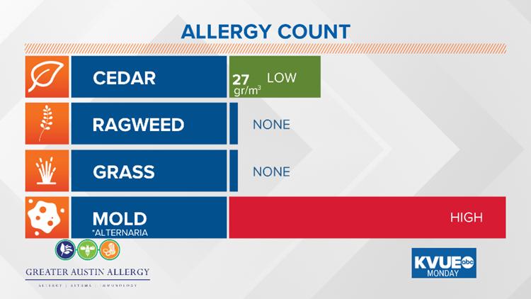 Monday Pollen Count