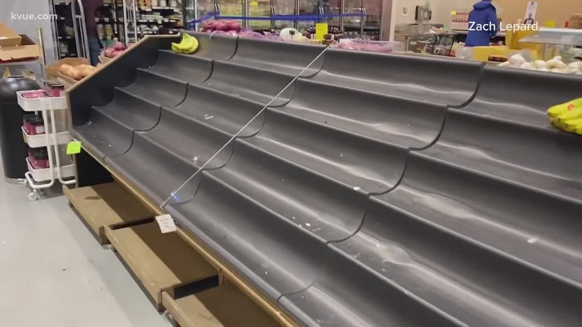 KVUE Defenders take a look at the Texas food supply shortage