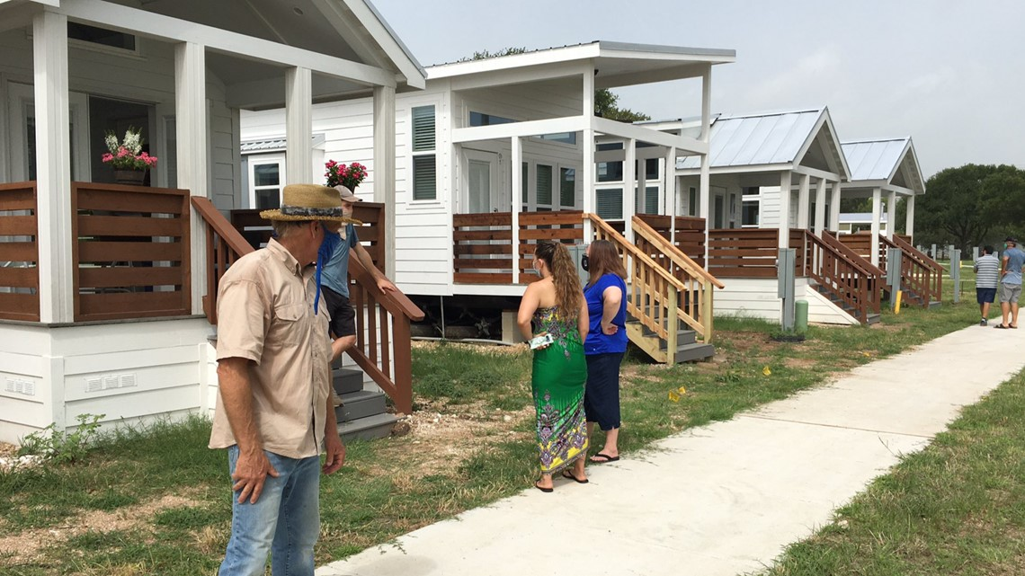 Tiny home agriculture neighborhood now open in East Austin